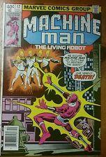 Machine Man # 12 Vf+ Steve Ditko 1979 Bronze Key Marvel Comic