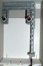 SCALA HO DOPPIO SEGNALE A PORTALE FS 2 VELE 1° CAT. LUCI A LED R/V  NEW COD.328