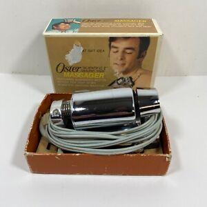 Oster Massager Scientific Swedish Style Model 126-01 Vintage 1974 Tested Works