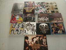 SUPER JUNIOR - K-POP - CD - DVD - PHOTOBOOK - CDSINGLE
