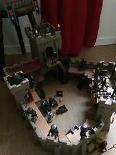 Playmobil 4866 Chateau du Faucon Rouge Chevaliers avec notice