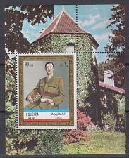 Fujeira 1972 ** Bl.101 A Charles de Gaulle