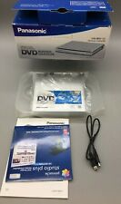 New listing Vw-Bn1 Panasonic Portable Dvd Burner - Original box & Manual - C07