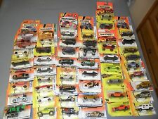 HUGE (50) LOT MATCHBOX CARS TRUCKS VANS MBX METAL JEEP GTO UFO GOLF CART +