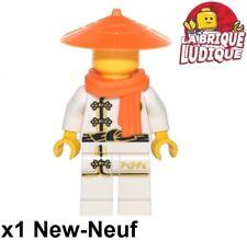 Lego - Figurine Minifig Ninjago Scarf écharpe Mannequin blanc njo344 70620 NEUF