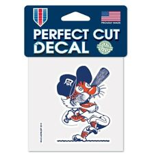 "DETROIT TIGERS COOPERSTOWN COLLECTION VINYL PERFECT CUT DECAL 4""X4"" WINDOWS"