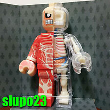 Jason Freeny x 4D Master Anatomic Dissected Lego Brick Man Attack on Titan Ver