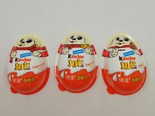 SET COMPLETO 3 GUSCI VUOTI YEAR OF THE DOG KINDER JOY CINA 2018 FERRERO