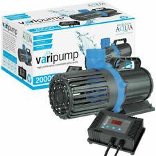 Evolution Aqua Varipump 20000 Controllable Pond Pump - Black