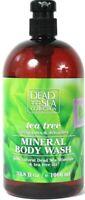 1 Bottle Dead Sea Collection 33.8 Oz Tea Tree Oil Detoxifies Mineral Body Wash