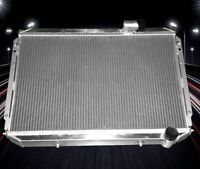 3 Rows Weld All Aluminum Radiator For 1984-1989 Nissan 300ZX V6 Engine CU762