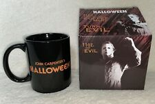 John Carpenter Michael Myers Halloween Coffee Mug Heat Changing Cup 11 Oz. RARE