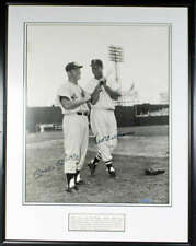 Mickey Mantle Ted Williams Signed 16x20 Photograph Upper Deck UDA COA