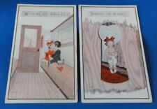 Two Vintage1920's Era Post Cards: Comedy Cards