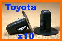 For Toyota 10 plastic nylon screw grommet M5 fitting fastener bumper fender