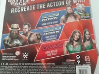 WWE Mattel Battle Pack Series 38:Adam Rose&Bunny,Undertaker&Wyatt,Bella Twins