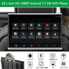 10.1 Inch HD Android 7.1 Headrest Monitors Player DVD FM WIFI 3G/4G Mirror Link