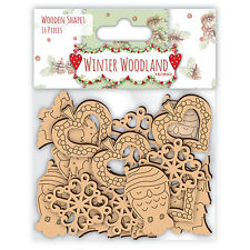 Helz Cuppleditch Winter Woodland Wooden Elements
