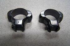 Redfield 1 inch Steel scope mounts medium rings for 22 Cal Grooved 4Rail