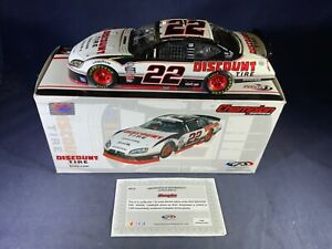 C7-95 BRAD KESELOWSKI #22 DISCOUNT TIRE - 2011 CHARGER - MISSING REAR WINDOW