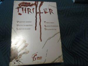 """COFFRET 6 DVD """"THRILLER : DANGEREUSE CONVOITISE / LA SPIRALE DU MENSONGE /"""