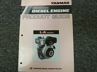 Yanmar L40AE L48AE L60AE L70AE L75AE L90AE L100AE Engine Product Service Manual