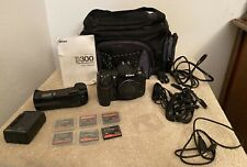 Nikon D300 Digital Camera black body w/ MB-D10 battery grip + Battery + Bag