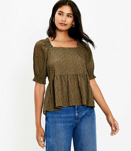 ANN TAYLOR LOFT Top, Size Small, New Arrival, New  W/ $59.50 TAG
