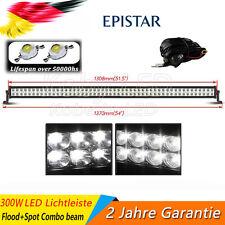 """50""""/52"""" LED Arbeitsscheinwerfer 300W Arbeitslampe Light bar offroad Balken Lkw"""