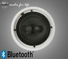 "DLS 6.5"" INDOOR HI-FI CEILING SINGLE STEREO SPEAKER WITH BLUETOOTH AMPLIFIER"