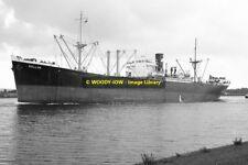 mc1001 - French Cargo Ship - Rollon , built 1946 - photo 6x4