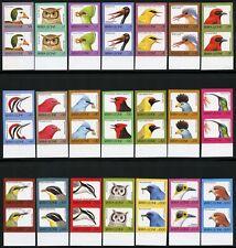 Sierra Leone 1992 Vögel Birds Freimarken 1897-1917 U Ungezähnt Paare MNH / 620