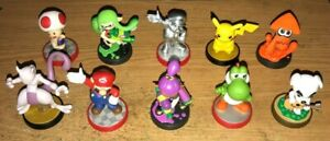 Nintendo® Amiibo Figures Fun Pick and Choose Characters You Want