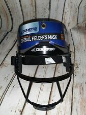 Champro Softball Fielders Face Mask Guard Youth & Adult  Black New with Tags
