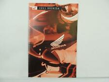 1993 Honda Motorcycle Brochure Catalog Gold Wing Fourtrax CT70 Cub L3060