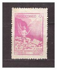 s19780) BRASILE BRAZIL 1949 Priest congress 1v