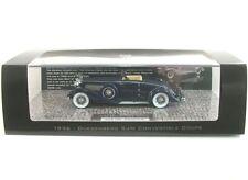 Duesenberg Sjn (Supercharged) Convertible Coupe (dark blue) 1936