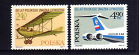 POLONIA/POLAND 1975 MNH SC.2123/2124 Air post stamps 50th