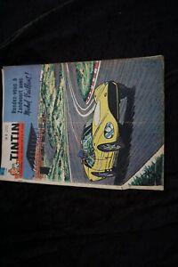 Tim und Struppi Tintin Nr. 6 1961 Cover Michel vaillant Rick Master