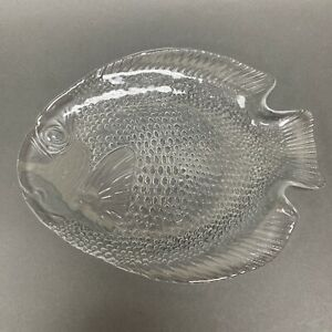 """Arcoroc France Clear Textured Glass Plate 10 1/8"""""""