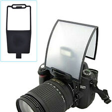 Flash Diffuser Softbox Black Clear Reflector for Canon Nikon Speedlite TSCA