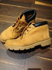 Low Rise Womens Nellie Timberland Boots Size 3.5 Tan Nubuck Leather