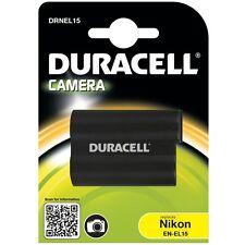 Duracell DRNEL15 Replacement Digital Camera Battery for Nikon EN-El15 Battery