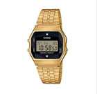 Casio A159WGED-1DF Gold Stainless Steel Watch for Unisex