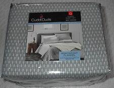 cuddl duds 6 pc bedding set gray cozy aztec 100 cotton flannel