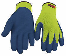 12 x Pair Blackrock Thermal Work Gloves SIZE 9  Hi Vis Yellow Safety (8401109)