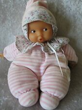 """Corolle Babicorolle Babipouce Pink Striped 11"""" baby Doll"""