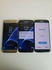 Lot Of Three! Samsung Galaxy S7 Edge G935F/V/A - 32 Gb - Unlocked Smartphone
