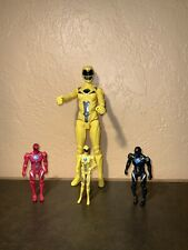 Power Rangers in Space Red, Black, And Yellow Lot