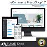 Dominio INTERNET con NEGOZIO ONLINE STORE SHOP WEB PrestaShop versione 1.7 new